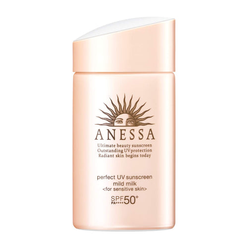 SHISEIDO ANESSA Perfect UV Sunscreen Mild Milk A SPF50+ PA++++ 60ml (2020 New Version) x 100