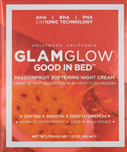 Load image into Gallery viewer, Glamglow Good In Bed Passionfruit Softening Night Cream for Women, 1.5 Ounce