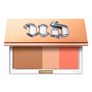 Urban Decay Stay Naked Threesome Palette, Rise - Bronzer, Highlighter & Blush Trio - Natural Satin Finish