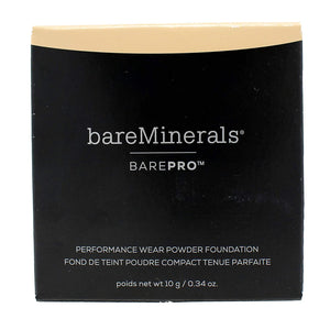 bareMinerals Barepro Performance Wear Powder Foundation, Warm Light, 0.34 Ounce