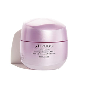 White Lucent by Shiseido Overnight Cream & Mask 75ml