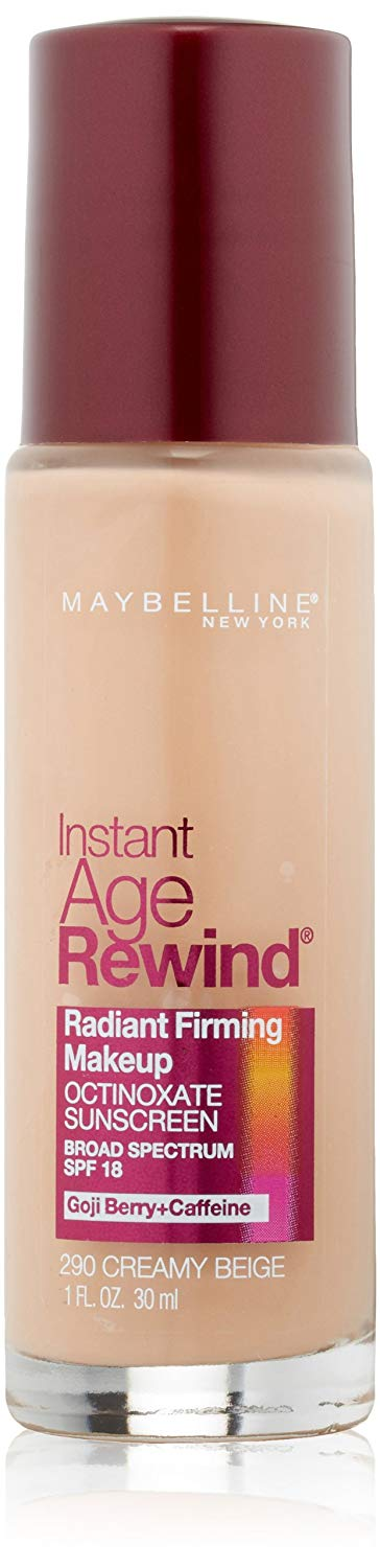 Maybelline New York Instant Age Rewind Radiant Firming Makeup, 1 Fluid Ounc