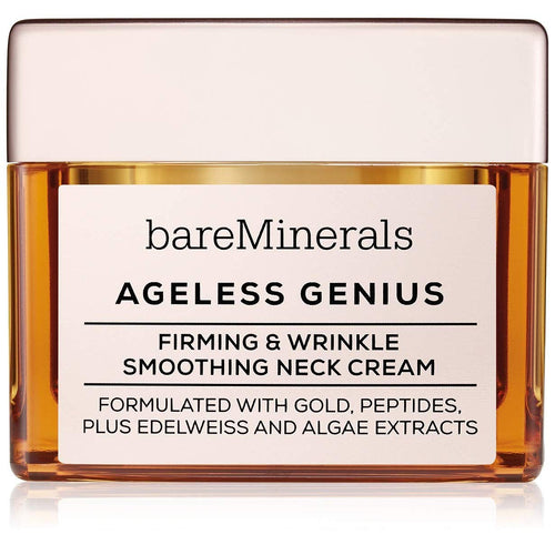 bareMinerals Ageless Genius: Firming & Wrinkle Smoothing Neck Cream, 1.7 Ounce