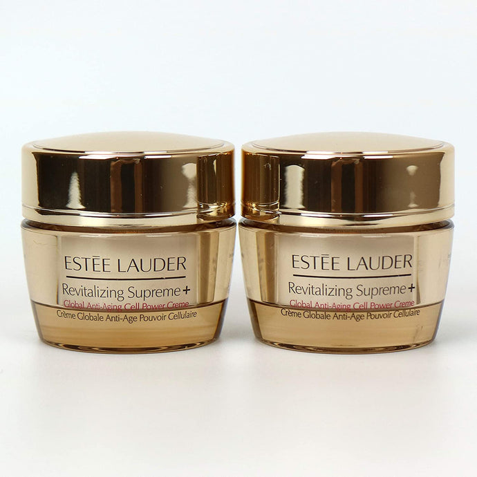 Lot 2 x Estee Lauder Revitalizing Supreme+ Global Anti-Aging Cell Power Creme 0.5 oz / 15 ml. x 51