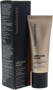bareMinerals Complexion Rescue Tinted Hydrating Gel Cream SPF 30, Chestnut 09, 1.18 Ounce, Multi