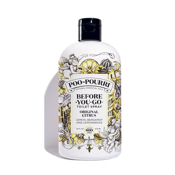 Poo-Pourri Before-You-Go Toilet Spray Refill, Original Citrus Scent, 16 oz x 300