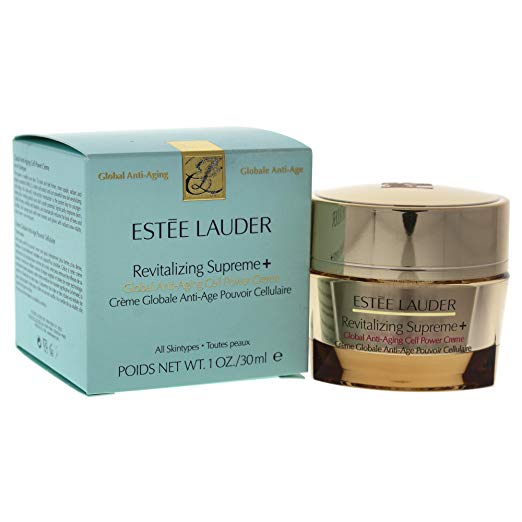 Estee Lauder Revitalizing Supreme Plus Global Anti-aging Creme for Women, 1 Ounce x 100