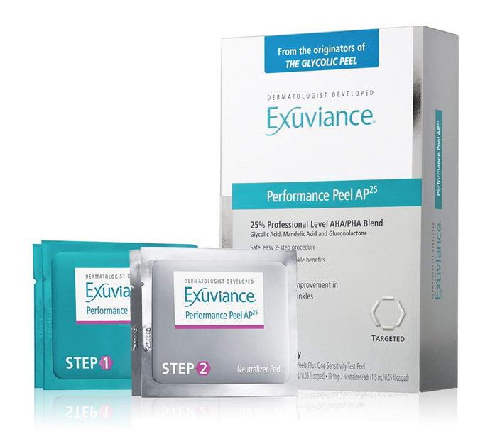 Exuviance Performance Peel AP25, 12 Count x 100