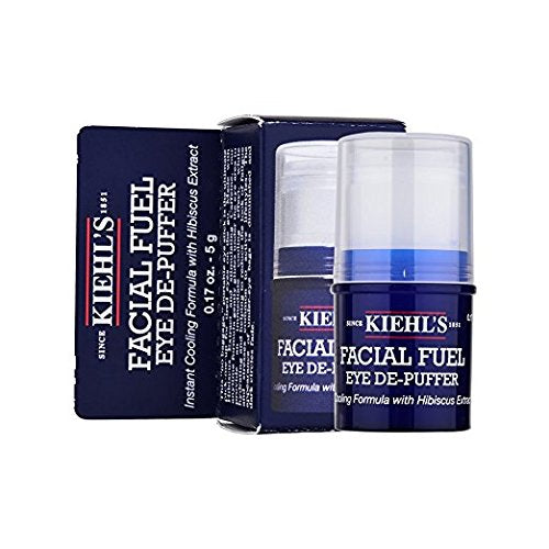 Kiehl's Facial Fuel Eye De Puffer for Men, 0.17 Oz x 100