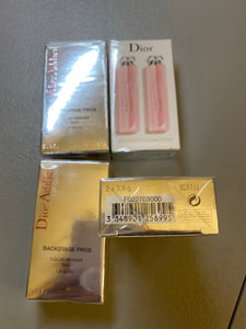 Christian Dior Addict Duo Lip Glow Set, No. 001 and No. 004, 0.12 Ounce