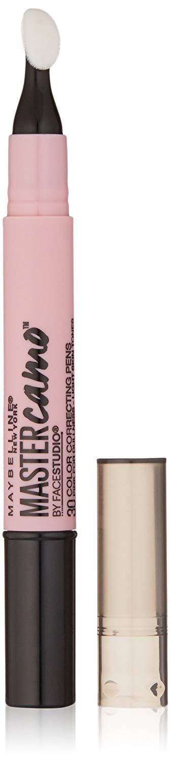 Maybelline Master Camo Color Correcting Pen, Pink For Dullness, light, 0.05 fl. oz x 144