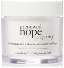 Load image into Gallery viewer, Philosophy Renewed Hope in a Jar Refreshing and Refining Moisturizer for Dry Skin, 2 Oz