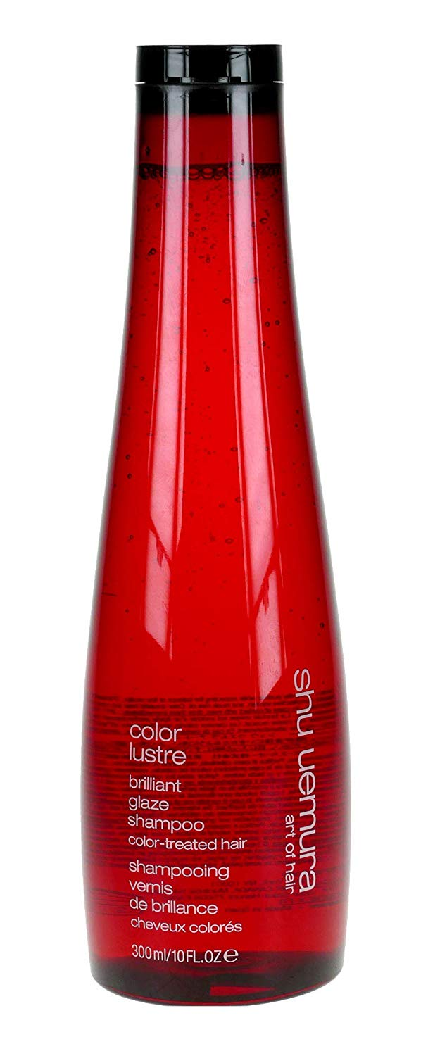 Shu Uemura Color Lustre Brilliant Glaze Shampoo for Unisex, 10 Ounce x 34