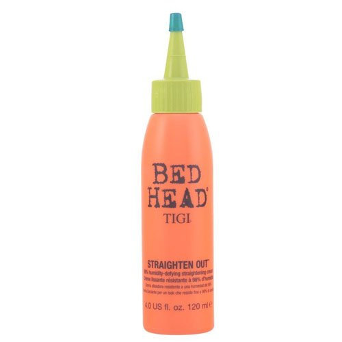 TIGI Bed Head Straighten Out 98% Humidity Defying Straightening Cream for Unisex, 4 Ounce x 100