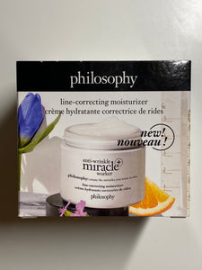 Philosophy Anti wrinkle worker Line-Correcting Moisturizer 2 oz