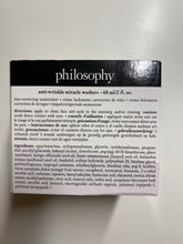 Load image into Gallery viewer, Philosophy Anti wrinkle worker Line-Correcting Moisturizer 2 oz