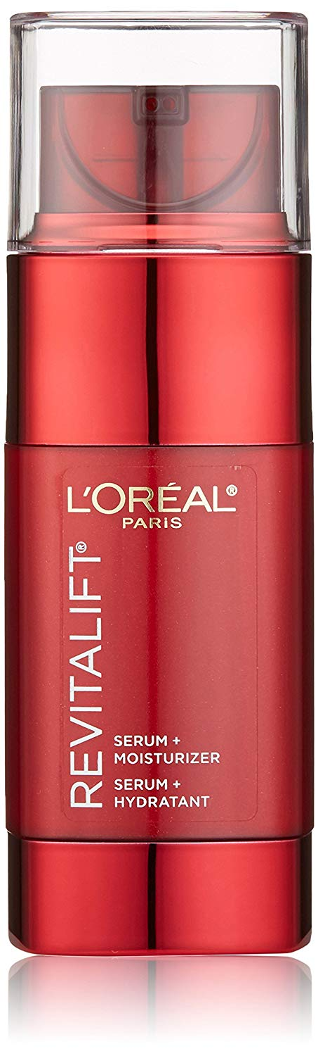 L'Oréal Paris Skincare Revitalift Triple Power Intensive Skin Revitalizer, Face Moisturizer + Serum with Vitamin C and Pro-Xylane for Fine Lines and Wrinkles, 1.6 fl. oz. x 250