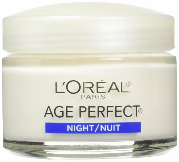 L'Oreal Paris Age Perfect Night Cream, 2.5 Fluid Ounce (Pack of 2) x 100