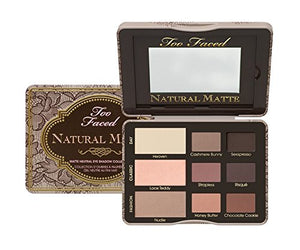 Too Faced NATURAL MATTE Neutral Eye Shadow Palette - NIB x 125