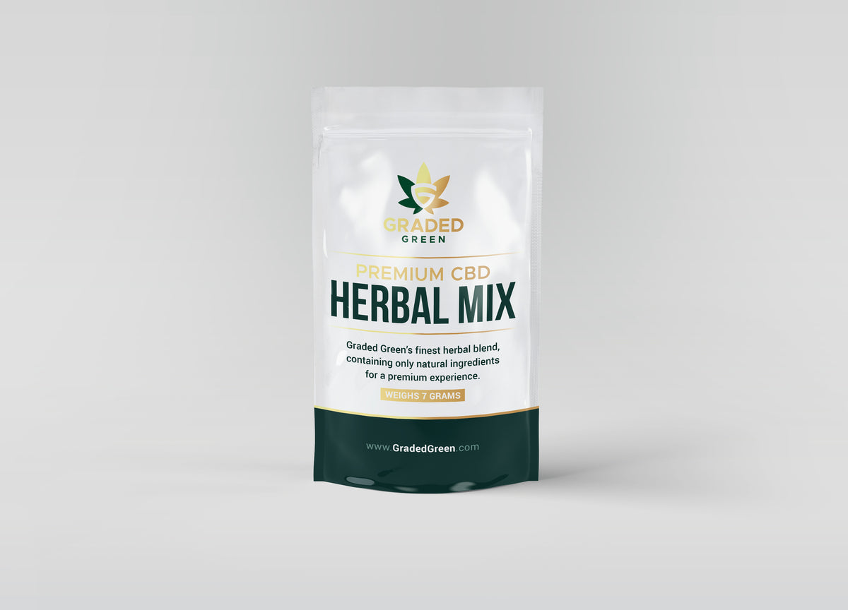 CBD Herbal Mix Bag 14% CBD Trim (New Blend 26/04/21)