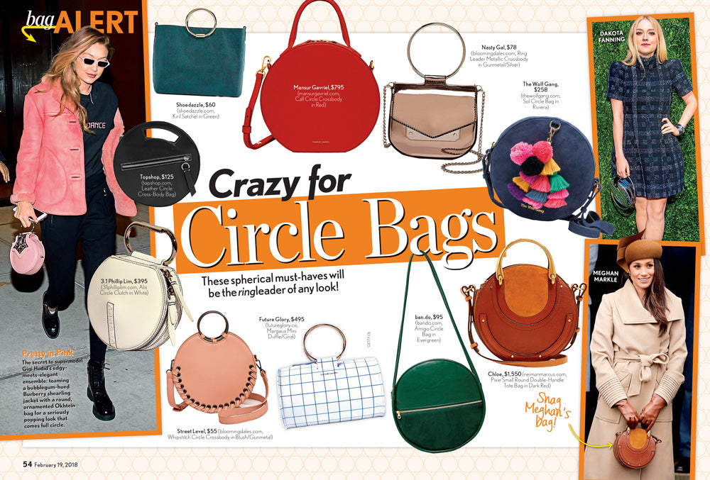 Life & Style / Future Glory / Crazy For Circle Bags