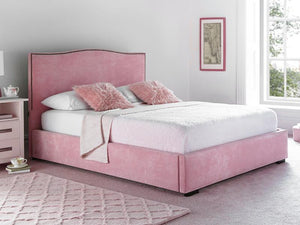 Country Upholstered Bedstead