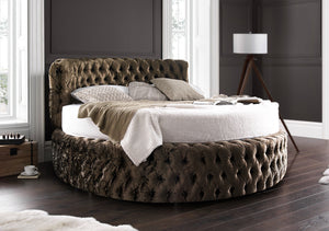 Glamour Round Bed