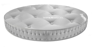 Round Luxury 1000 pocket sprung mattress