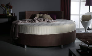 Verve Round Bed with Curved Headboard