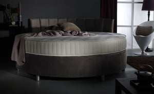Verve Round Bed with Dyad Headboard