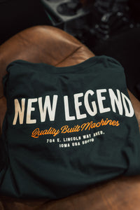Quality Built Tee - Forest Green