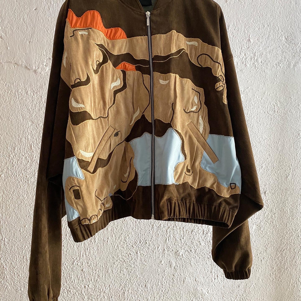 BEAUTIFUL BROWN JACKET^ ONE OF ONE