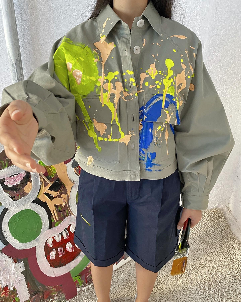 PAINT JACKET^ ONE OF ONE