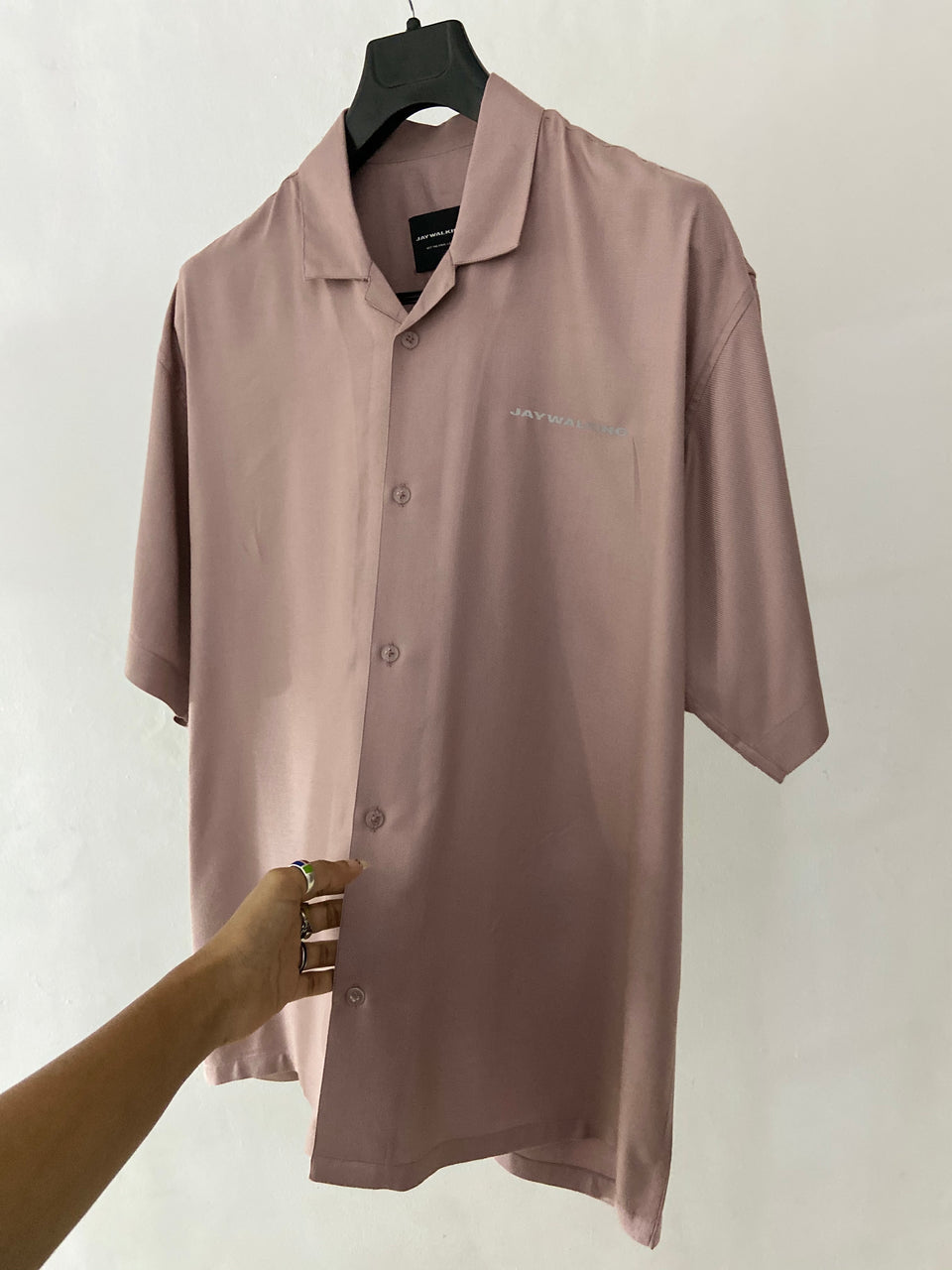 DUSTY PINK SHIRT [UNISEX]