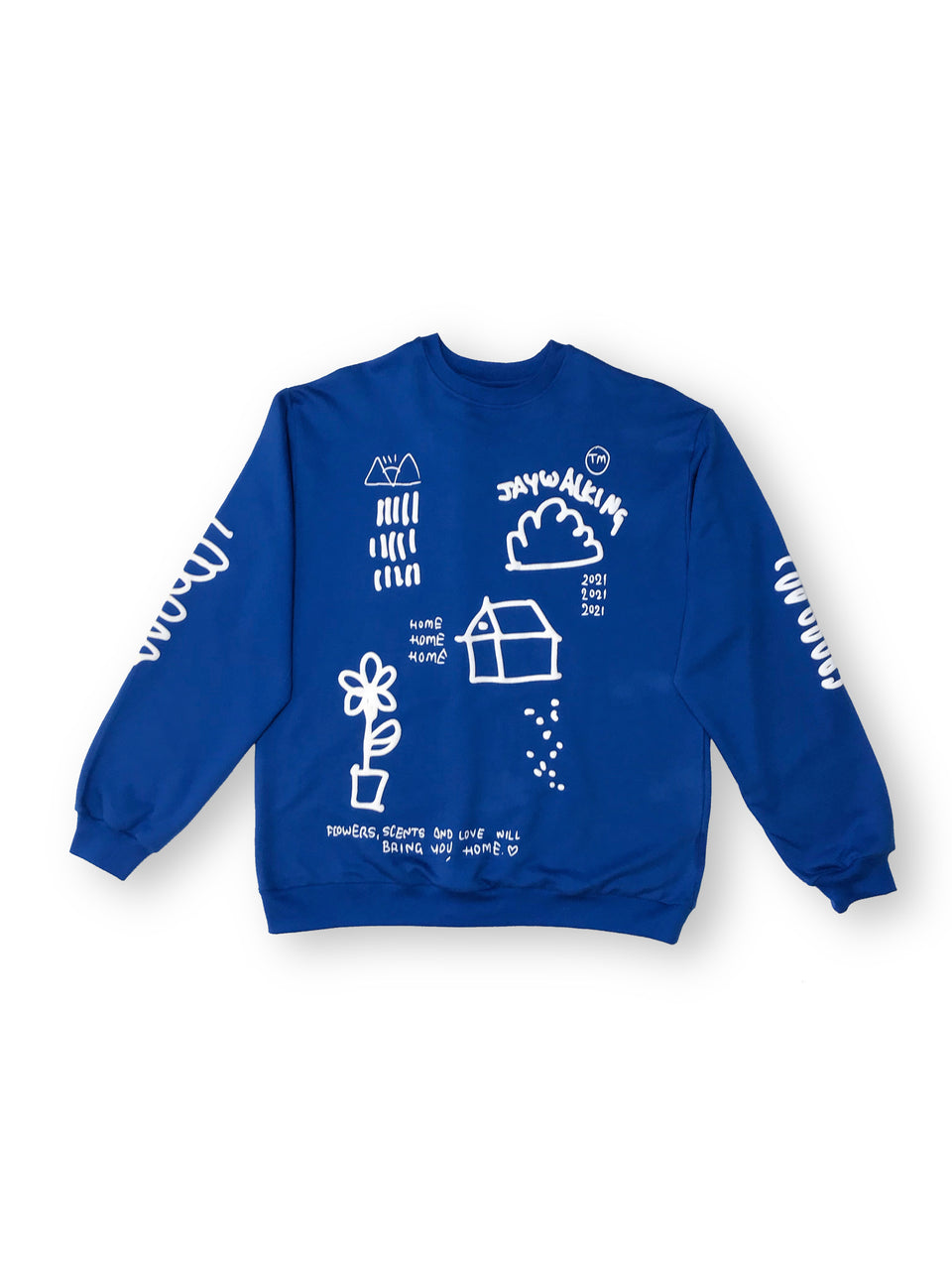 HOME SWEATSHIRT IN INK BLUE [UNISEX]