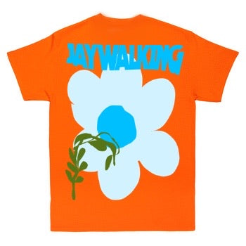 ORANGE FLOWER T-SHIRT [UNISEX]