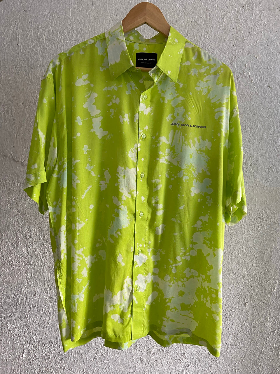 LIME SPLATTER SHIRT [UNISEX]