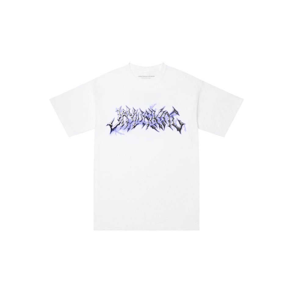 CHROME T-SHIRT IN WHITE [UNISEX]