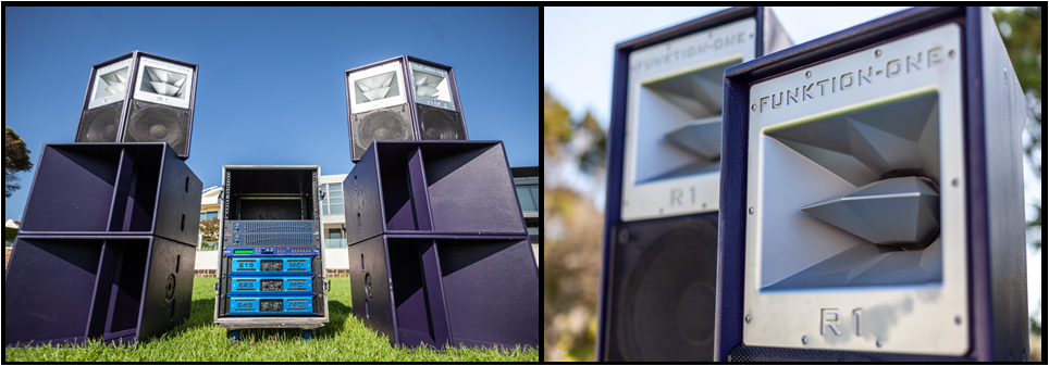 Funktion One R1 118 Speaker Hire