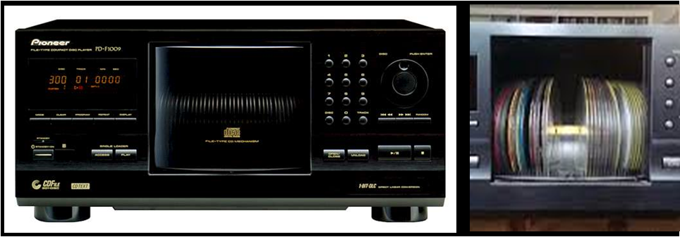 Pioneer 301 x CD Player Hire