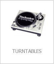 turntables hire