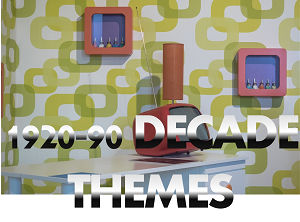 1950;s 1960' 1970's 1980' 1990's props themes hire