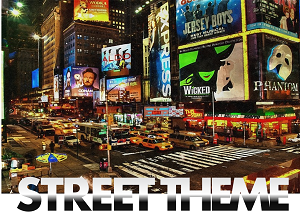 street themes props hire rental