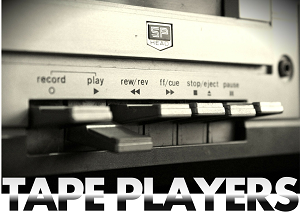 tape player hire rental