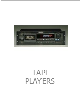 hire rent cassette decks md players reel to reel