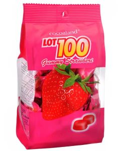 Cocoaland Lot 100 Strawberry Gummy 150g - KonveniGomart