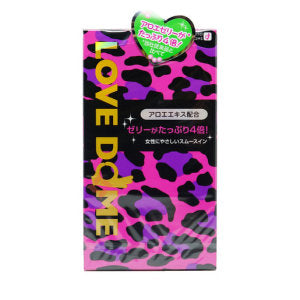 Okamoto Condom Love Dome Panther Green 12 pieces - KonveniGomart