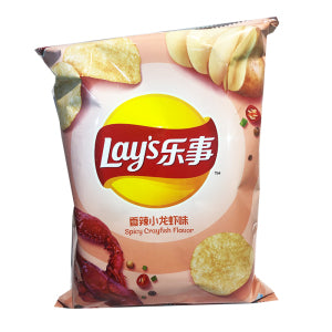 Lay's Potato Chips (Spicy Crayfish  Flavor) 70g - KonveniGomart