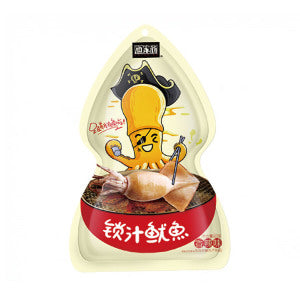 Uncle Yu Whole Squid (Spicy Flavor) 60g