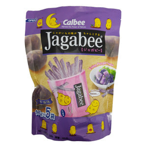 Calbee Jagabee Purple Potato Sticks Pouch 85g - KonveniGomart